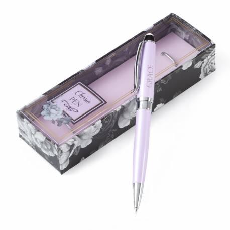 Pink Ballpoint Pen: Grace