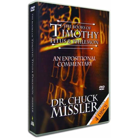 Timothy, Titus & Philemon commentary (Chuck Missler) DVD SET (8 sessions)