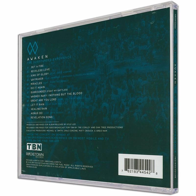 Awaken Michael W Smith Audio Cd