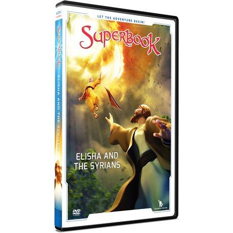 Elisha & the Syrians (Superbook) DVD
