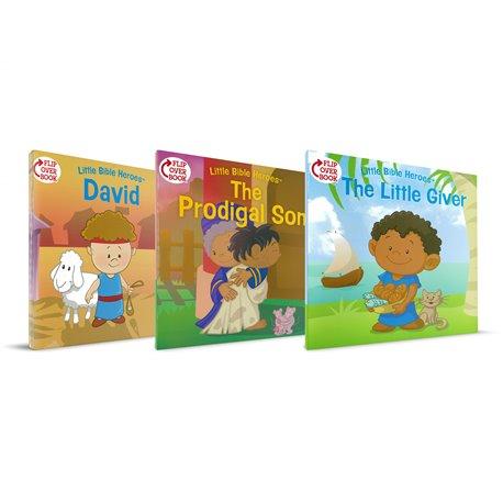 Little Bible Heroes 3 Flipbook Pack