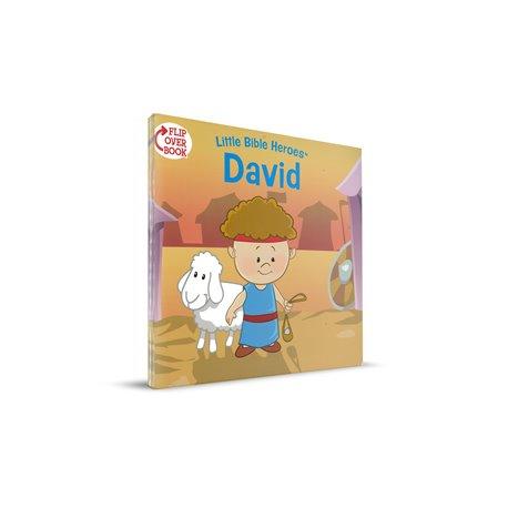 David/Esther Flip-Over Book (Little Bible Heroes Series)