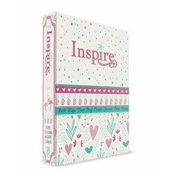 NLT Inspire Bible For Girls (Black Letter Edition)