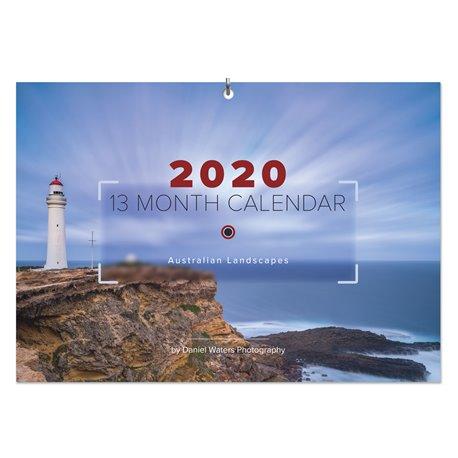 Daniel Waters 2020 13-Month Calendar