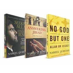 Nabeel Qureshi Apologetic Pack (Nabeel Quereshi) 3 x PAPERBACK