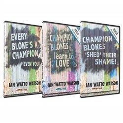 The Champion Blokes Audio Books Pack (3 Audio Books)