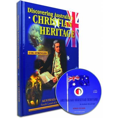 Discovering Australia's Christian Heritage (Col Stringer) HARDCOVER bonus CD-ROM