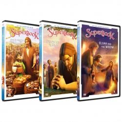 Superbook New Release Pack 2021 - 3 x DVDs