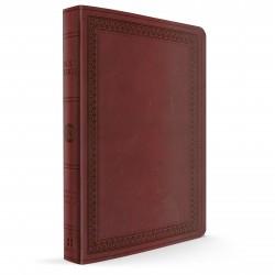 ESV Large Print Value Thinline Bible (Mahogany TruTone)