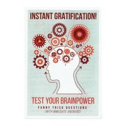 Instant Gratification GOSPEL TRACT (Pack of 100)