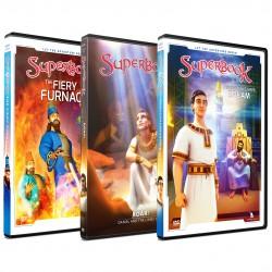 Superbook Daniel Pack 3 x DVDs