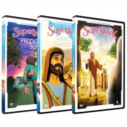 Superbook New Testament Pack (3 DVD pack)