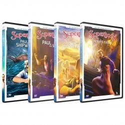 Superbook Peter & Paul Pack (4 DVD pack)