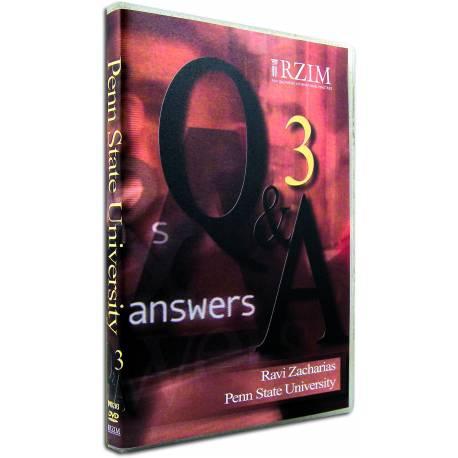 Q&A Vol 3 (Ravi Zacharias) DVD