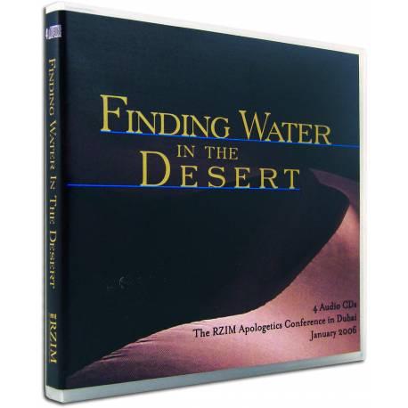 Finding Water in the Desert (Ravi Zacharias) AUDIO CD (4 discs)