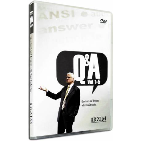 Q&A Vols 1 - 5 (Ravi Zacharias) DVD